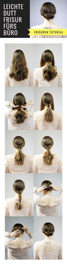 Duttklammer Haarkrebs Frisuren